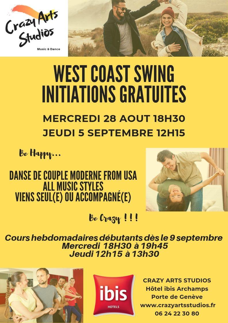 West coast swing Archamps Genève