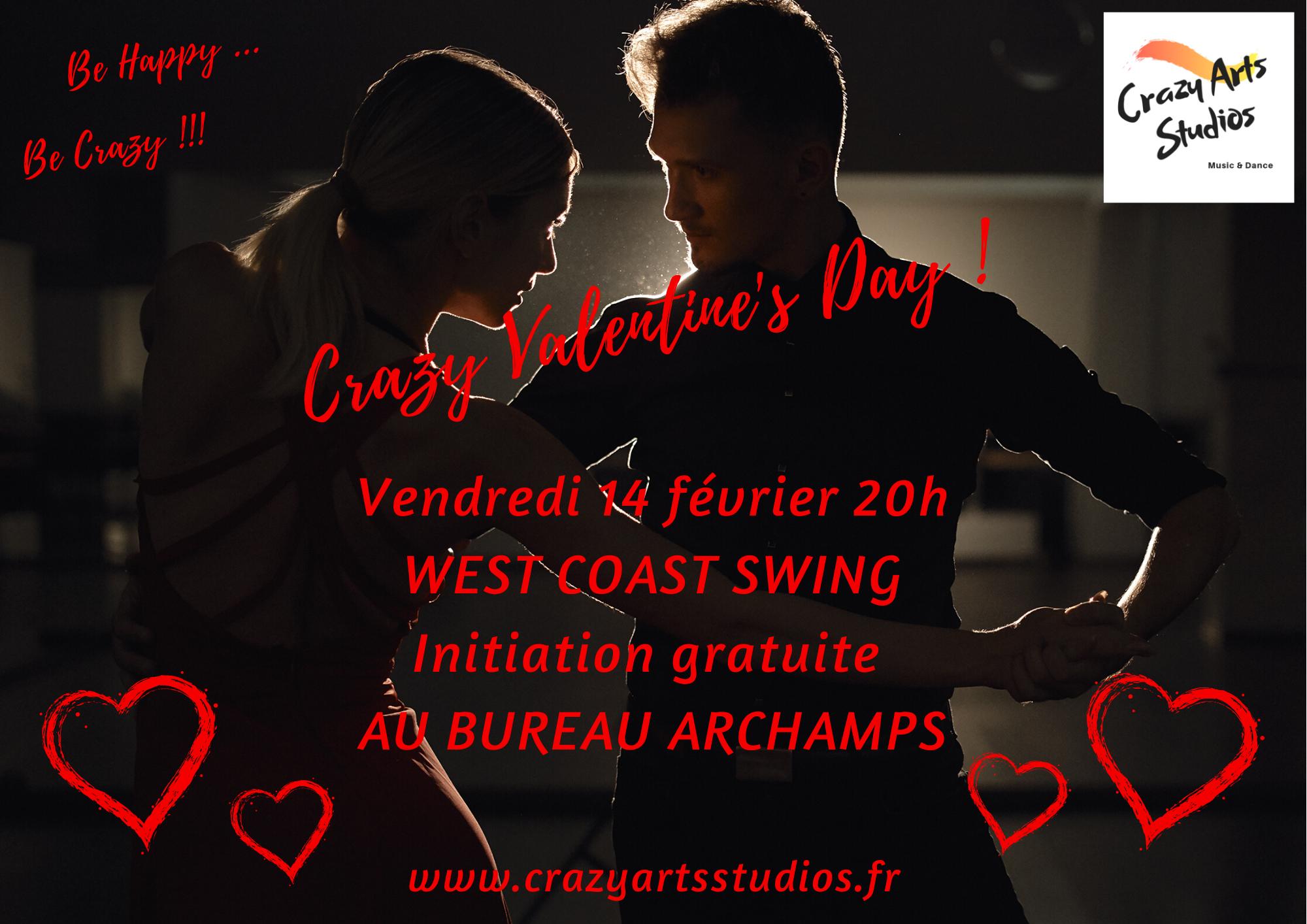 Bonne Saint-Valentin West Coast Swing Genève Archamps !