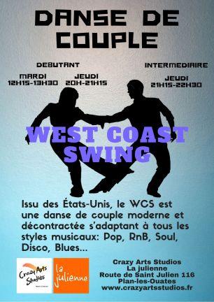 New flyer La julienne février 2020 West coast swing Genève